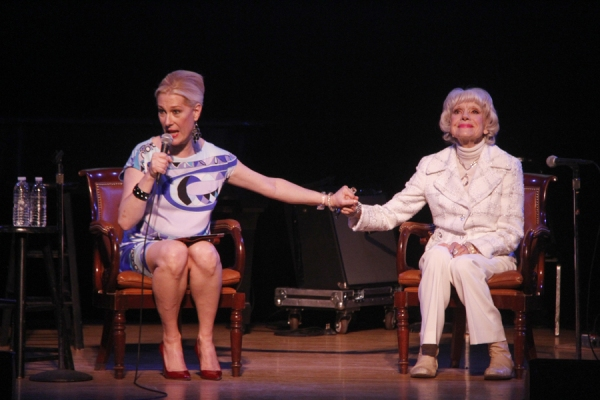Photo Flash: Carol Channing Returns to Town Hall with Justin Vivian Bond!