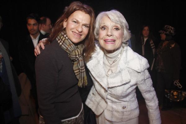 Carol Channing and Sandra Bernhard