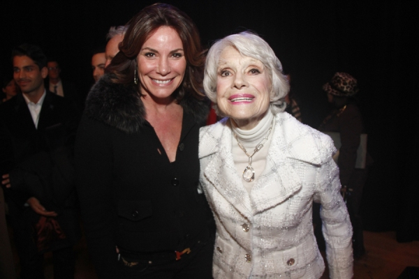 Carol Channing and Countess Luann de Lesseps