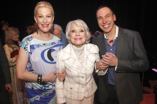 Justin Vivian Bond, Carol Channing and Producer Daniel Nardicio