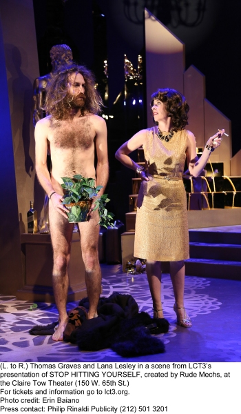 Photo Flash: First Look at LCT3's STOP HITTING YOURSELF