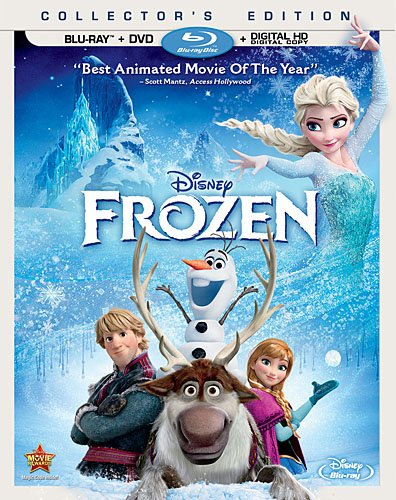 FROZEN Blu-ray & DVD Now Available For Pre-Order, Out 3/18