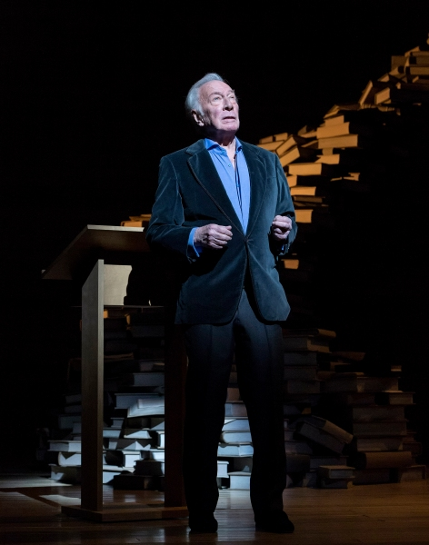 Photo Flash: Sneak Peek at Christopher Plummer's A WORD OR TWO, Opening This Week at the Ahmanson