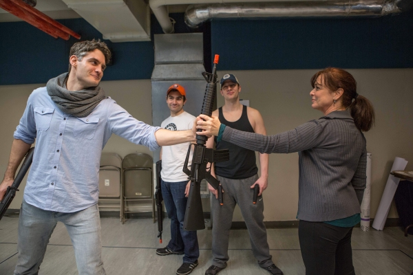Photo Flash: In Rehearsal with Off-Broadway's PHILOSOPHY FOR GANGSTERS
