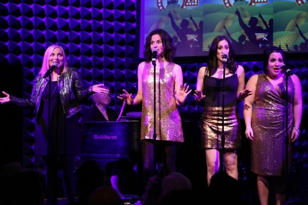 Roslyn Kind, Mandy Gonzalez, Jennifer Diamond & Katie Sarno