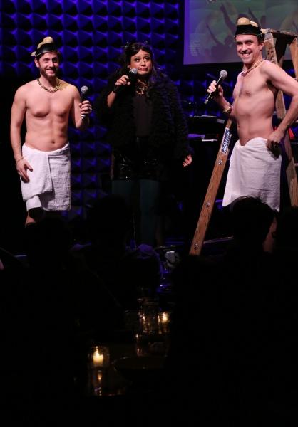 Kurt Domoney, Natalie Toro & Josh Walden