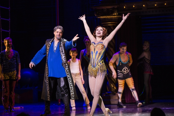 Photo Coverage: New 'Granny' Annie Potts Takes First Bow in PIPPIN!