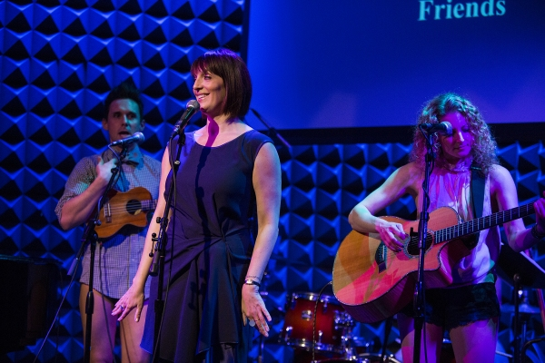 Photo Coverage: Idina Menzel, Kerry Butler and More Perform for LIVING FOR TODAY!