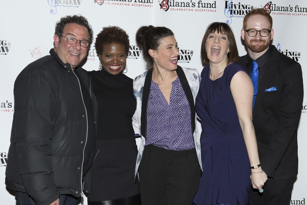 Michael Grief, LaChanze, Idina Menzel, Julia Murney and David Alpert