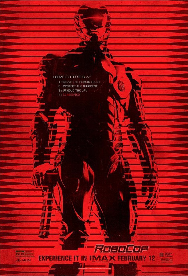 First Look - New IMAX Poster Revealed for ROBOCOP Reboot