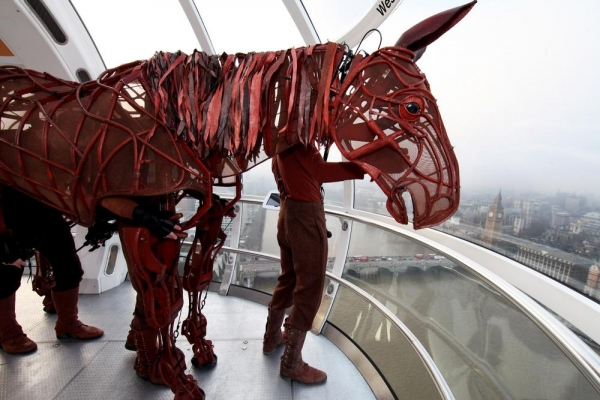 Joey, equine star of WAR HORSE, celebrates 2,000 West End performances at EDF Energy London