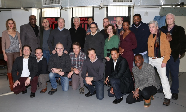 Michael McKean, Playwright Robert Schenkkan, Bryan Cranston, Director Bill Rauch and Company