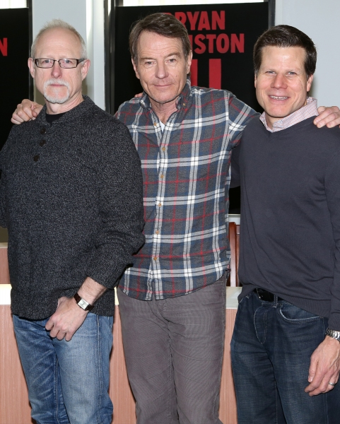 Playwright Robert Schenkkan, Bryan Cranston, Director Bill Rauch