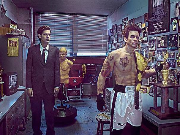 He's Got The Eye Of The Tiger! First Look At Andy Karl In ROCKY
