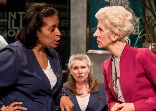 Ora Jones as Jaclyn, Tara Mallen as Illeen and Lorraine Freund as Rose
