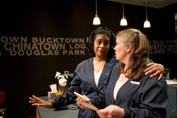 Ora Jones as Jaclyn and Tara Mallen as Ileen