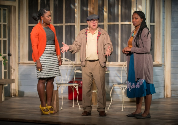 Lucy Sandy, Walter Brody and Lily Mojekwu