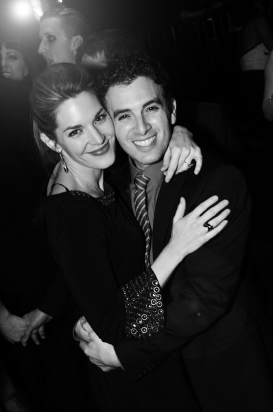 Jarrod Spector with wife, Kelli Barrett