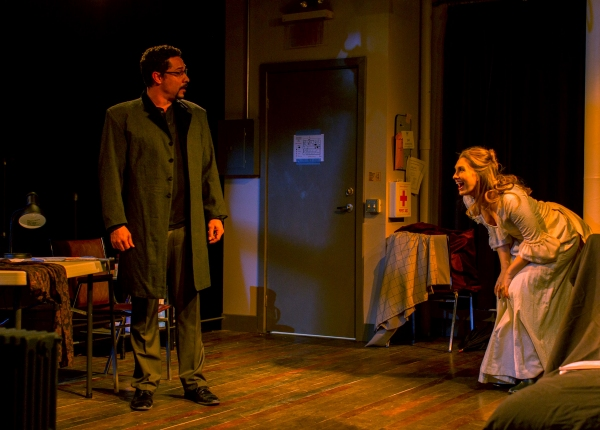Photo Flash: New Production Shots from Kitchen Theatre's VENUS IN FUR, Beg. Tonight