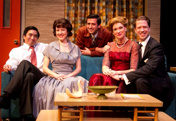 Photo Flash: MAPLE & VINE Opens Tonight at Cygnet Theatre