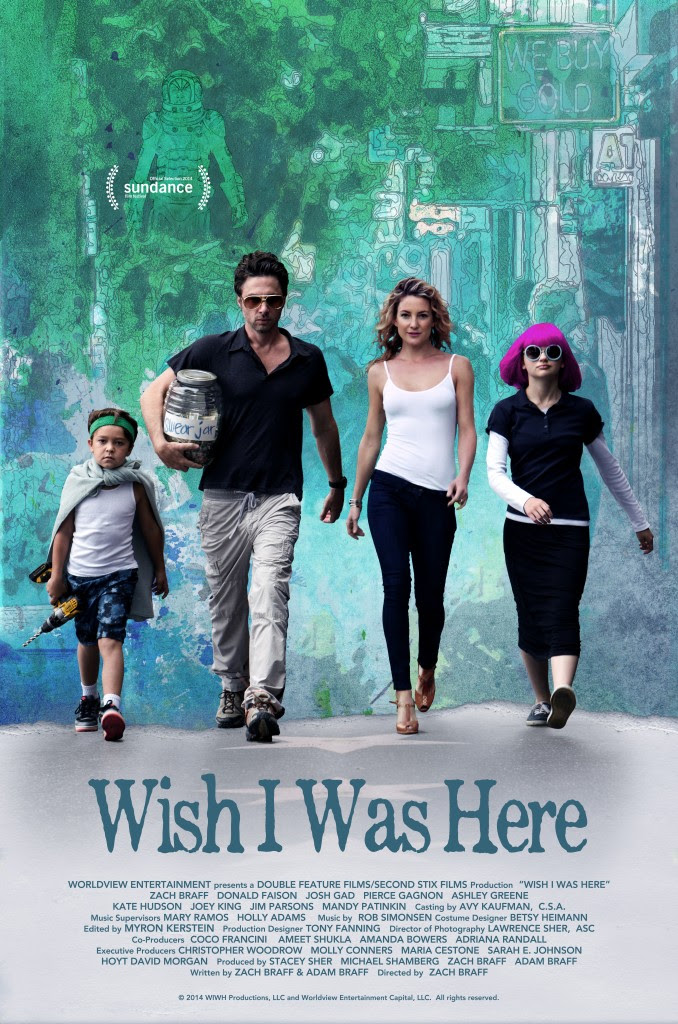 Zach Braff's Crowd-Funded WISH I WAS HERE Sells For Nearly $3 Million & Sparks Controversy