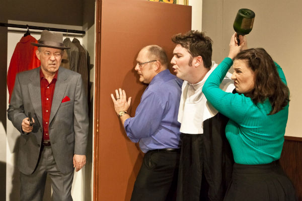 BWW Reviews: LIE, CHEAT, AND GENUFLECT Laugh, Giggle, and Guffaw