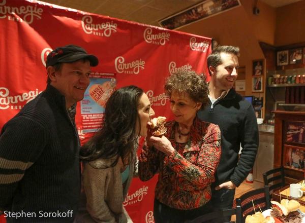 Sheffield Chastain, Charlotte Cohn, Carol Lawrence, Jonathan Sale Photo