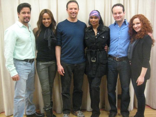 Enrique Acevedo, Deborah Cox, Peter Schoeffler, Vivian  Reed, Jamie LaVerdiere, Brittney Lee Hamilton