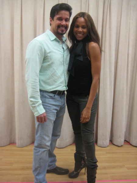 : Enrique Acevedo and Deborah Cox