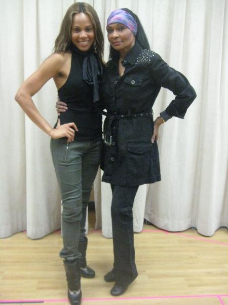 Deborah Cox and Vivian Reed