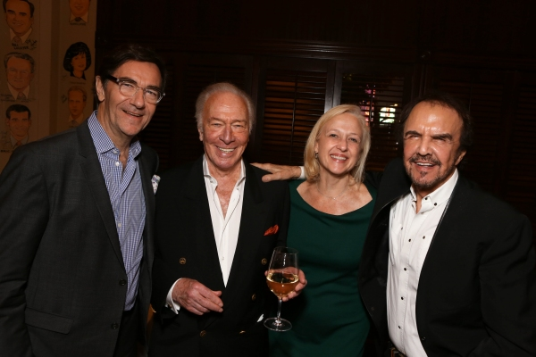 Stephen Segaller, Christopher Plummer, Paula A. Kerger, Dave Clark Photo