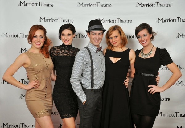 Alexandra Palkovic, Melissa Zaremba, Stephen Schellhardt, Megan Sikora and Holly Becker
