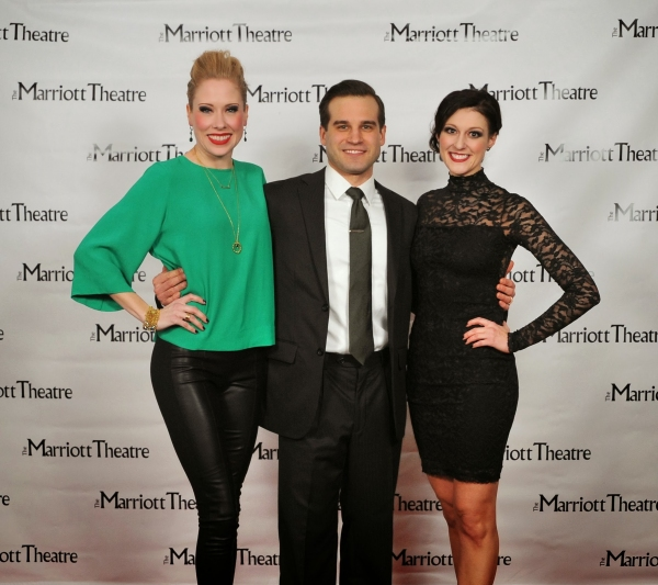 Brandi Wooten, James Cooper and Melissa Zaremba