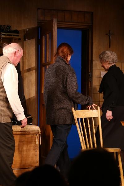 Peter Maloney, Debra Messing & Dearbhla Molloy