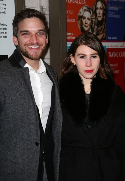 Evan Jonigkeit and Zosia Mamet