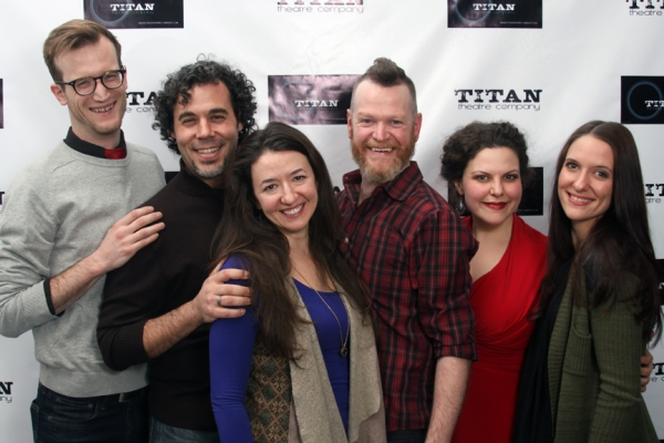 Photo Flash: TITAN Celebrates Opening of THIS PRISON WHERE I LIVE