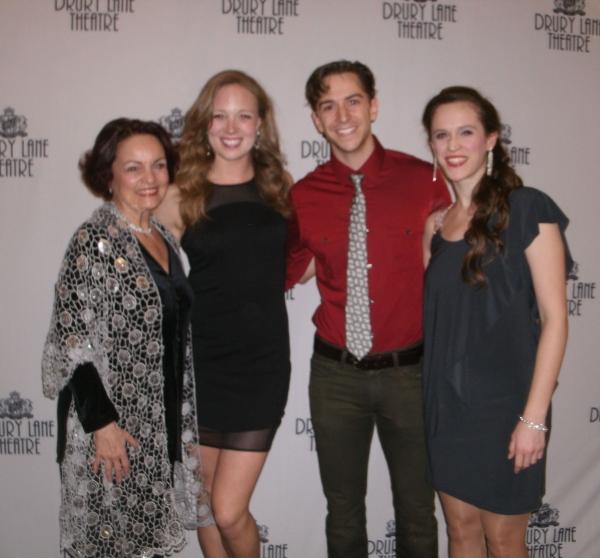 Paula Scrofano, Allison Sill, Skyler Adams and Amanda Lauren Compton Photo