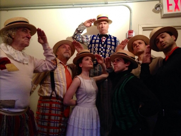 Photo Flash: Saturday Intermission Pics, Jan 25 - Stark Sands' Last #SIP with KINKY BOOTS, Broadway Against Bullying and More!