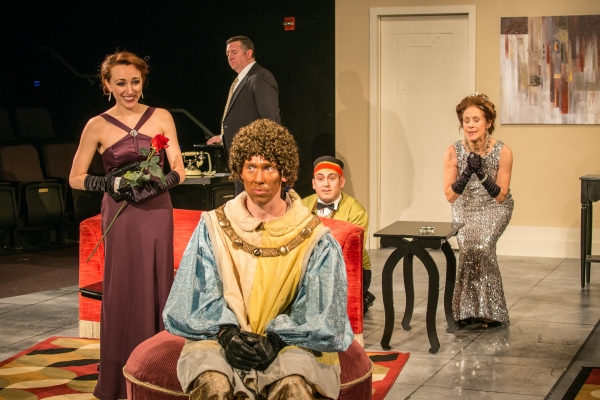 Tenor Jeff Gonzales, Lilly Wilton, Donna Schilke, Corrado Alicata, Mike Boland Photo