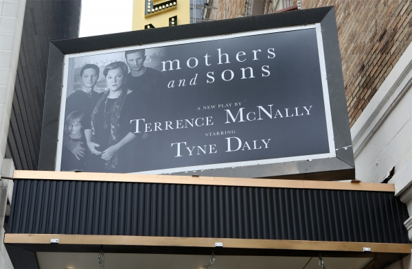 Up on the Marquee: MOTHERS AND SONS