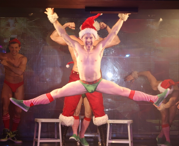 Photo Coverage: Broadway Celebrates the Seasons at Broadway Bares: WINTER BURLESQUE- CALENDAR GIRL; Part Two