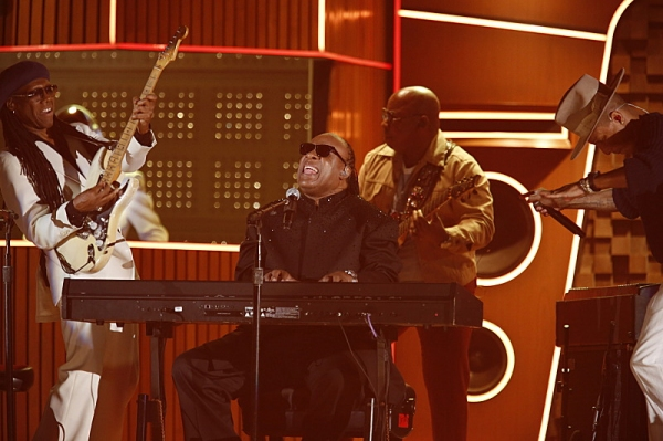 Daft Punk, Nile Rogers, Pharrell Williams, & Stevie Wonder