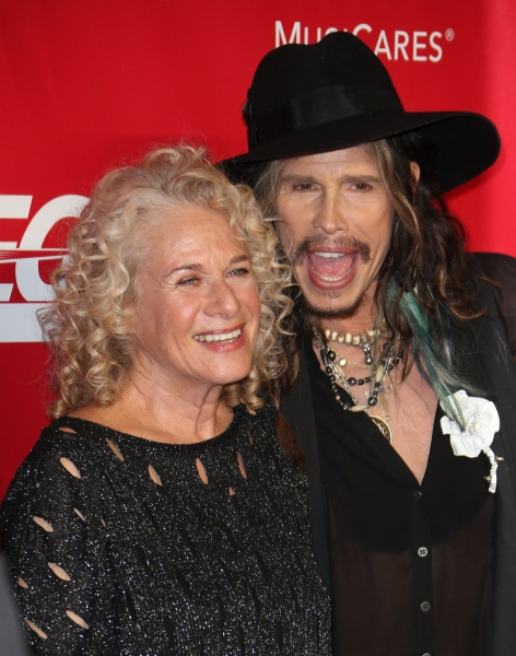 Carole King and Steven Tyler