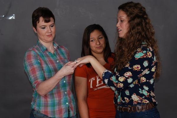 Megan Nix, Rebeca Stevens & Helen Hurn.