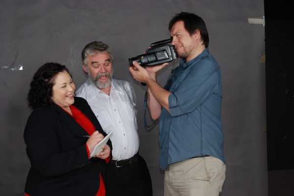 Amanda Garcia, Adrian Collinson & Bob Galley. Photo