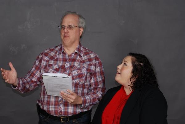 L to R: Jeff Henninger & Amanda Garcia. Photo