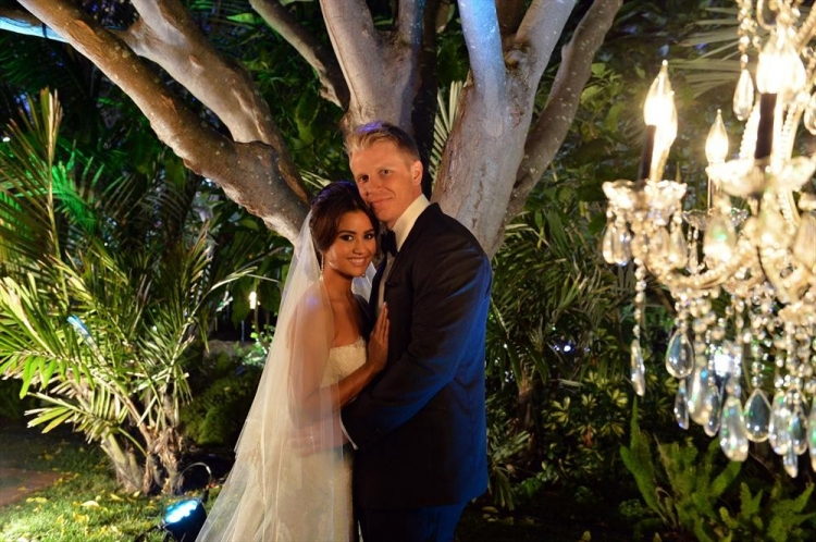 High Res THE BACHELOR: SEAN AND CATHERINE'S WEDDING - Sean Lowe and