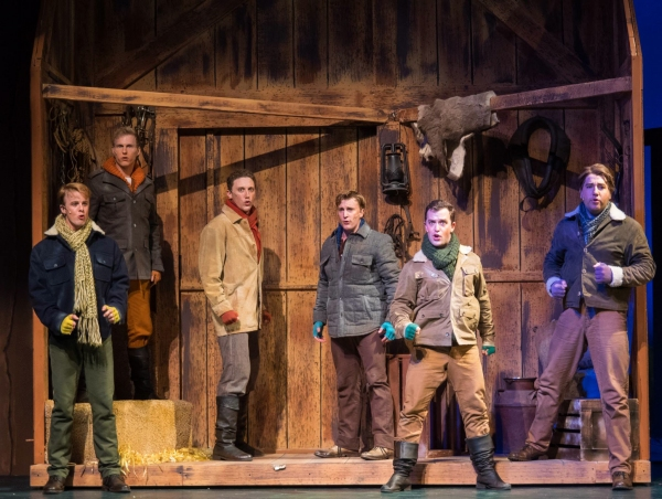 Photo Flash: Arizona Broadway Theatre's SEVEN BRIDES FOR SEVEN BROTHERS, Now Playing