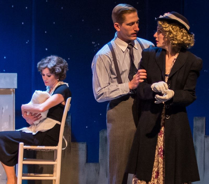 BWW Reviews: THE EQUATION from Theatre 9/12 – Two Stories that Don't Quite Hold Together