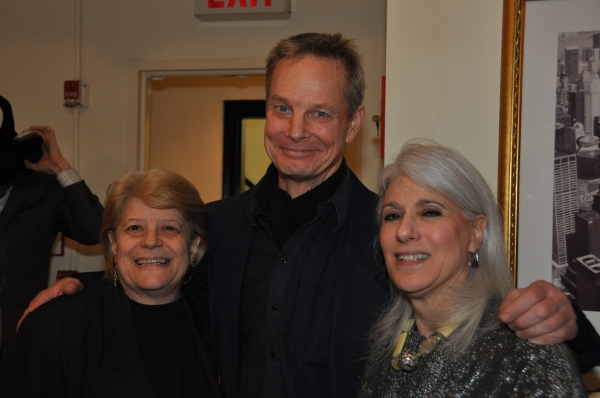 Penny Landau, Bill Irwin and Jamie deRoy